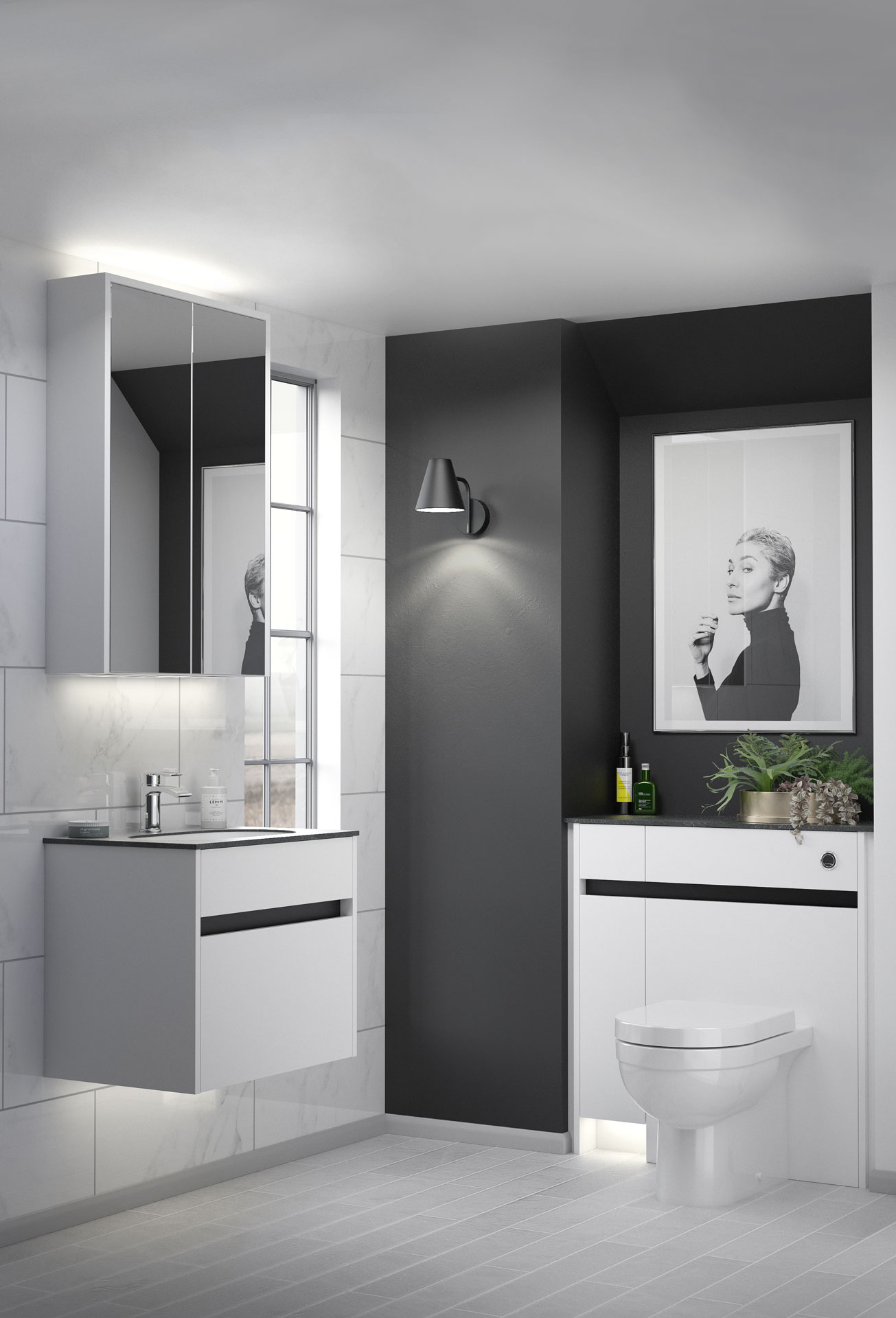Contemporary Fitted Utopia Bathrooms